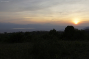Ngorongoro, Lake Makadi bei Sonnenuntergang