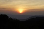 Sonnenuntergang über Ngorongoro