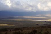 Am Ngorongoro-Kraterrand