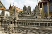 Modell von Angkor Wat. Tempelanlage Wat Phra Kaeo. Bangkok