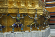Bangkok. Tempelanlage Wat Phra Kaeo