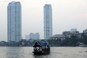 Bangkok. Fähre über den Chao Phraya