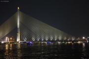 Bangkok. Rama VIII-Brücke über den Chao Phraya (+2002)