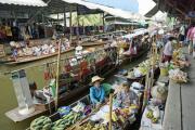 Schwimmender Markt von Damnoen Saduak