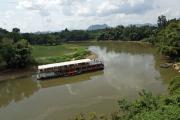 River Kwai (Khwae Yai) bei Wang Pho