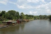 River Kwai (Khwae Yai). Bei Nam Tok, Kanchanaburi