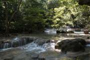 Erawan Wasserfälle, Erawan Natinalpark. Bei Kanchanaburi
