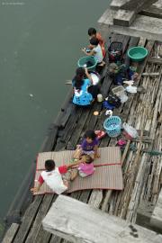"Leben neben der ""Mon-Brücke"", Sangkhla Buri"