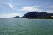 Küste mit Rai Leh. Krabi