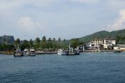 Kho Phi Phi Don. Anlegestelle