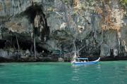Kho Phi Phi Leh. Wai King Höhle