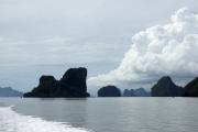 Inselwelt in der Bucht von Phang Nga. Nationalpark Ao Phang Nga