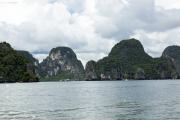 Bucht von Phang Nga. Nationalpark Ao Phang Nga