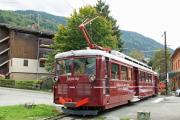 Tramway du Mont-Blanc TMB. Saint-Gervais-les-Bains