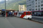 Mont Blanc-Express. Transports de Martigny et Régions TMR, Martigny - Châtelard (MC). Martigny