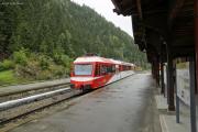 Mont Blanc-Express. Transports de Martigny et Régions TMR, Martigny - Châtelard (MC). Le Châtelard-Frontière