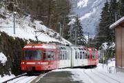 Mont Blanc-Express. Transports de Martigny et Régions TMR, Martigny - Châtelard (MC). Salvan