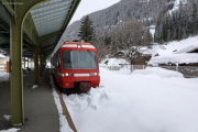 Mont Blanc-Express. TMR/SNCF. TMR-BDeh 4/8, Vallorcine