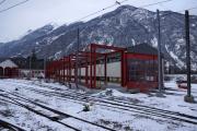 Mont Blanc-Express. Transports de Martigny et Régions TMR, Martigny - Châtelard (MC). Vernayaz