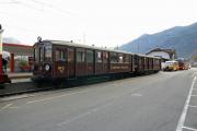 Train Nostalgique du Trient TNT. Martigny - Châtelard (MC). BFZt 75 und 74, Martigny