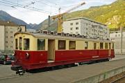 Train Nostalgique du Trient TNT. Martigny - Châtelard (MC). ABDeh 4/4 Nr. 32 (1921), Martigny