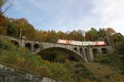 Mont-Blanc Express. Transports de Martigny et Régions TMR, Martigny - Châtelard (MC). Finhaut