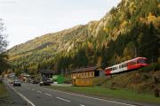 Mont Blanc-Express. Transports de Martigny et Régions TMR, Martigny - Châtelard (MC). Châtelard-Frontière