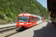 Mont-Blanc Express. Transports de Martigny et Régions TMR, Martigny - Châtelard (MC). Châtelard-Frontière