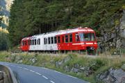 Mont Blanc-Express. TMR/SNCF. TMR-BDeh 4/8, Barberine