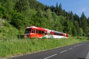 Mont Blanc-Express. Transports de Martigny et Régions TMR, Martigny - Châtelard (MC). Barberine (F)