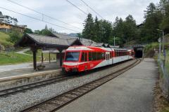 Mont Blanc-Express. Transports de Martigny et Régions TMR, Martigny - Châtelard (MC). Les Marécottes
