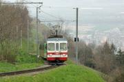 Transports Publics du Chablais TPC - Aigle-Ollon-Monthey-Champéry (AOMC) - kurz vor der Umstellung auf Abt-Zahnstange und 1.5kV=