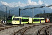 Transports Publics du Chablais TPC - Aigle-Ollon-Monthey-Champéry (AOMC) - Umstellung auf Abt-Zahnstange und 1.5kV=