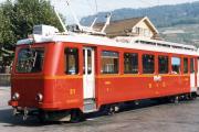 Transports Publics du Chablais TPC - Bex-Villars-Bretaye (BVB). Bex, 1985.