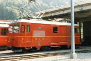 Transports Publics du Chablais TPC - Bex-Villars-Bretaye (BVB). Bévieux, 1985.