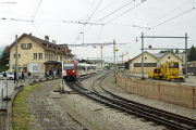 Transports publics fribourgeois SA tpf - Alter Bahnhof Châtel-Saint-Denis vor Umbau