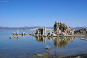 Mono Lake, 1945 müM, Tuffsteintürme, CA
