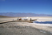 Badwater, 86 m unter Meerspiegel, Death Valley, CA