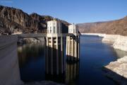 Wassereinlauftürme des Hoover-Staudamms, NV/AZ