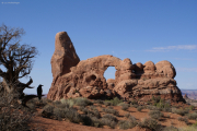 Turret Arch, Arches NP, UT