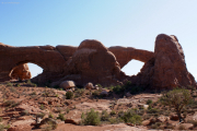 North and South Window Arches, Arches NP, UT