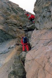 Kletterei am Pollux