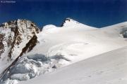 Aufstieg zur Signalkuppe: Dufourspitze, Zumsteinspitze