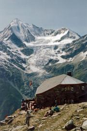 Domhütte (2928 m): Weisshorn