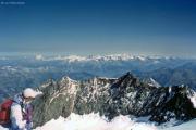 Dom (4545 m): Berner Alpen