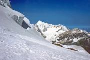 Abstieg vom Dom: Festigletscher, Weisshorn