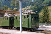 Wengernalpbahn WAB, 1983