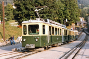Wengernalpbahn WAB, 1985
