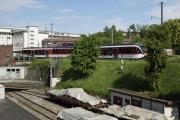 Zentralbahn zb. Alte Strecke Kriens Mattenhof - Luzern, 2012