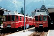 Luzern-Stans-Engelberg-Bahn LSE. Engelberg, 1983